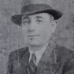Shavarsh Imirzian, member of the Dikran Yergat cultural association of Alexandria, Egypt