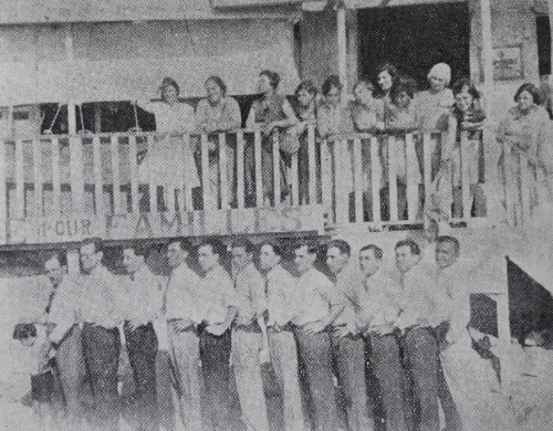 Armenian students in Meks, Egypt 1923