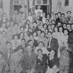 Armenian students from Alexandria visiting their peers in Cairo, Egypt 1938