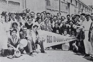 Armenian students from Cairo and Alexandria, Egypt 1937
