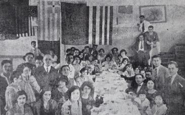 Armenian students in Meks, Egypt 1924