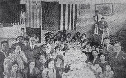 Armenian students in Meks, Egypt 1924