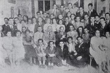 Armenian students of Alexandria on June 6, 1937