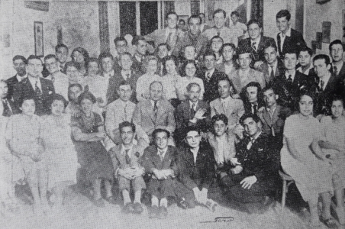 Armenian students of Alexandria on June 6, 1937