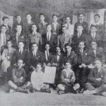 Armenian students of Alexandria, Egypt 1923