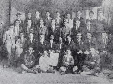 Armenian students of Alexandria, Egypt 1923