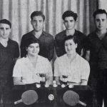 Armenian table tennis players of Egypt