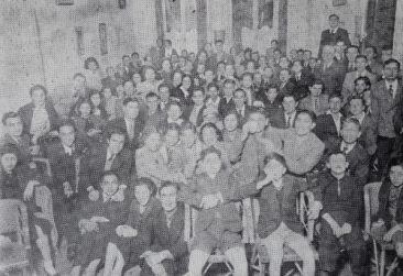 Armenian students of Egypt, 1937