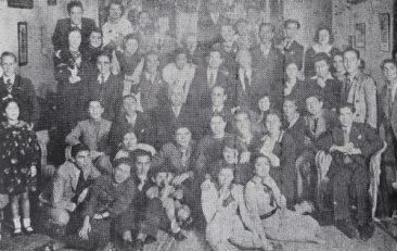 Armenian students of Egypt, 1934