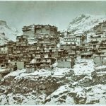 Zeytun town under snow, January 1907