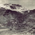Zeytun, view from Barzenga mountain slopes, April 1897
