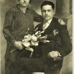 Marash Armenians - Asadour and Sirvardt (Astardjian) Doudouyan in Iskenderoun (Alexandrette), Syria 1930