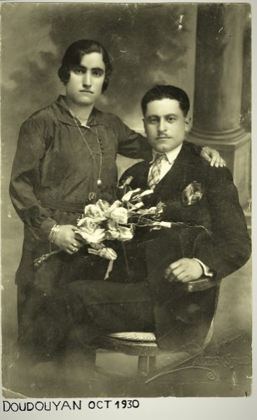 Marash Armenians – Asadour and Sirvardt (Astardjian) Doudouyan in Iskenderoun (Alexandrette), Syria 1930
