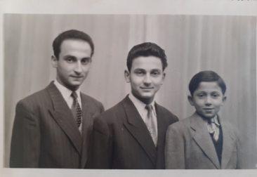 Georges, Gérard et Stéphane Keloglanian dits Kelian, Romans-sur-Isère May 20, 1951