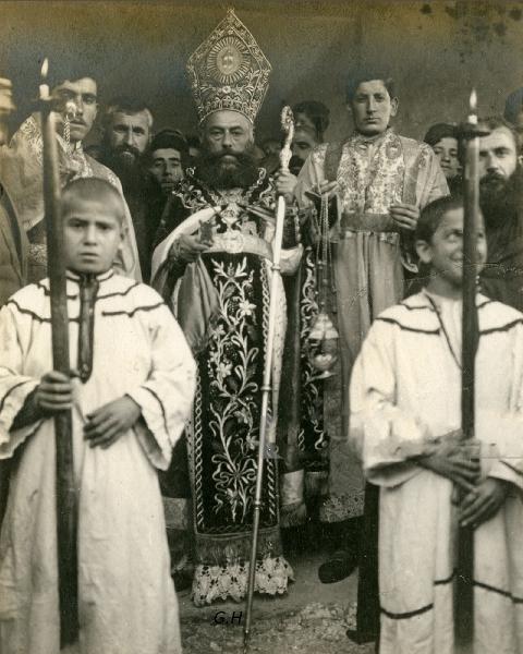 Zeytun Armenian Episcopos, Easter 1912