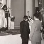 Souren and Sonia Zarmanian - Our marriage in Surp Nechan church in Beirut late October 1973