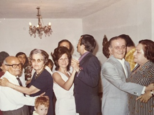 The engagement party with Zarmanians and Kazandjian