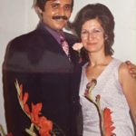 My fiancée Sonia Kechichian at the engagement party early October 1973 Beirut