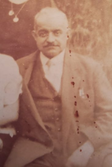 Unidentified Armenian man in Levallois Perret in the 1920s