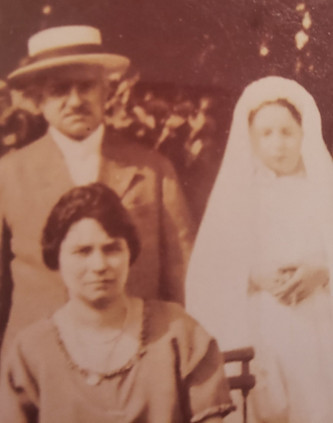 Unidentified Armenians in Levallois Perret in the 1920s